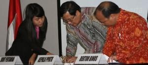 MoU antara Binus University dengan PPATK
