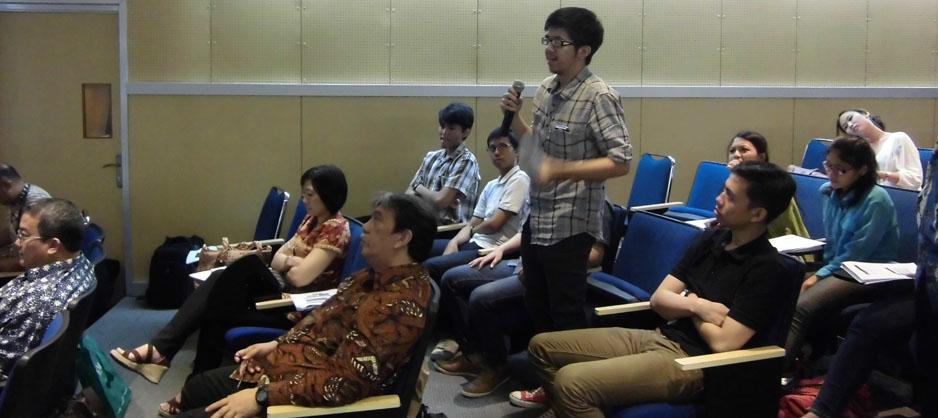 Peserta Diskusi Korupsi dan Hak Kekayaan Intelektual