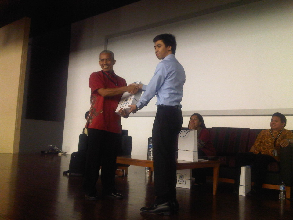 Kuliah Umum Prof. Dr. Bernard Arief Sidharta tentang Pancasila