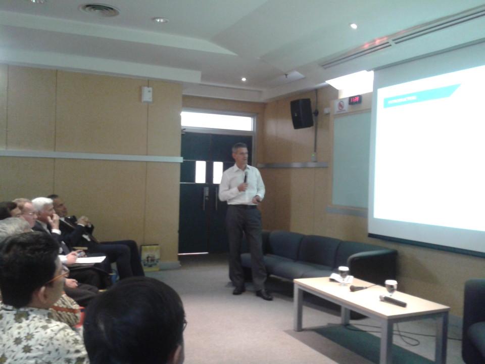 Diskusi IPR bekerja sama dengan Rouse IPR Consultant dan EuroCham