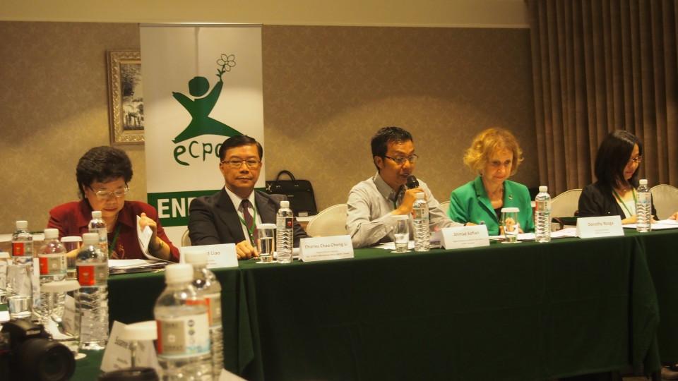 A. Sofian, dosen BL saat presentasi ilmiah di Taiwan