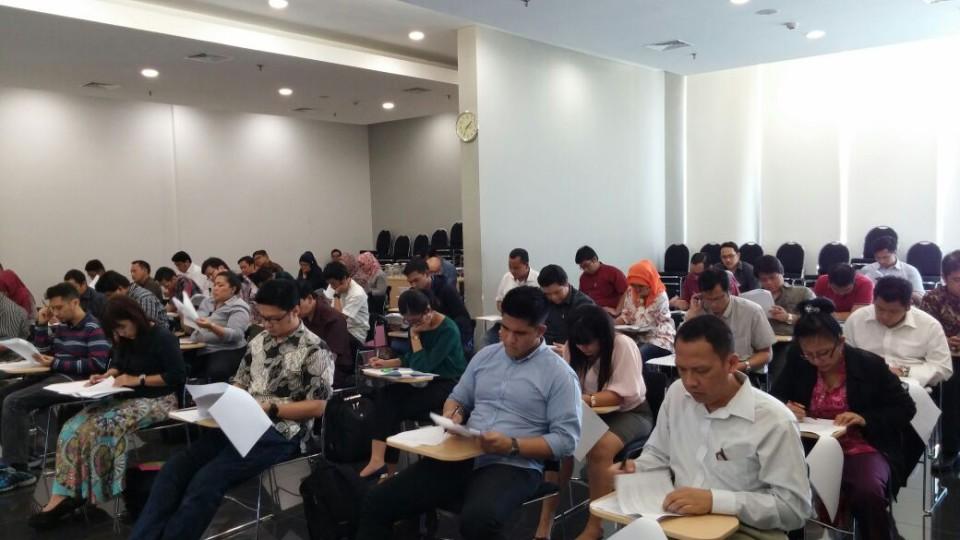 Ujian Akhir Pelatihan Konsultan Hki Di Binus