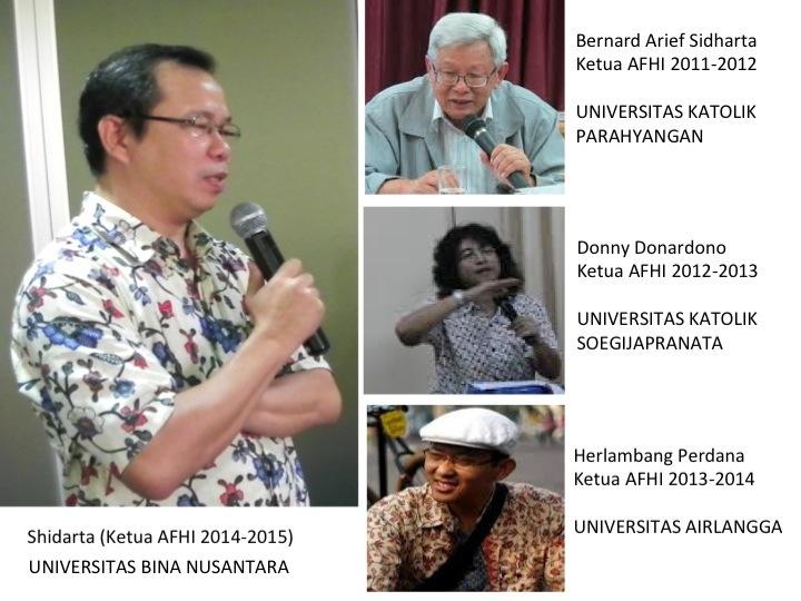 Shidarta, dosen BINUS ditunjuk sebagai Ketua Asosiasi Filsafat Hukum Indonesia