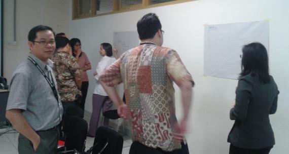 "Shidarta dalam pelatihan ""Developing Others"" tanggal 17 Februari 2015"
