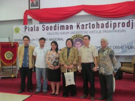 Kampus Unpar, 6 Maret 2015 (Seminar dalam rangkaian lomba debat piala Soediman)