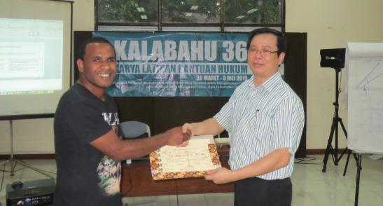 Kalabahu LBH Jakarta, 2 April 2015