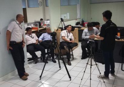 Pelatihan oleh BINUS TV kepada para dosen Business Law BINUS