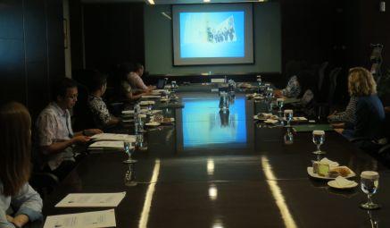 Kunjungan ECPAT Indonesia di Kampus BINUS, 4 Mei 2015