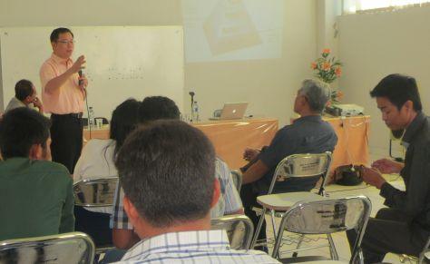 Kuliah umum di Program Pascasarjana Undana, Kupang, 29 Juni 2015