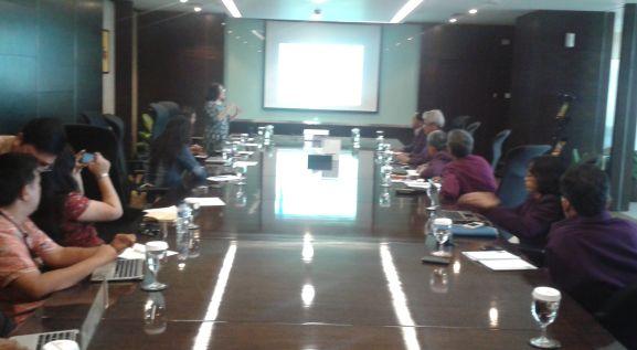 Kunjungan tim Unika Soegijapranata dipimpin oleh Dekan Fakultas Hukum dan Komunikasi