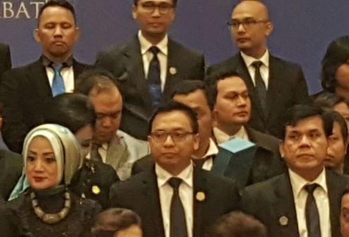 Jajaran pengurus Pengurus DPP AAI 2015-2020 (kiriman Januardo S.P. Sihombing)