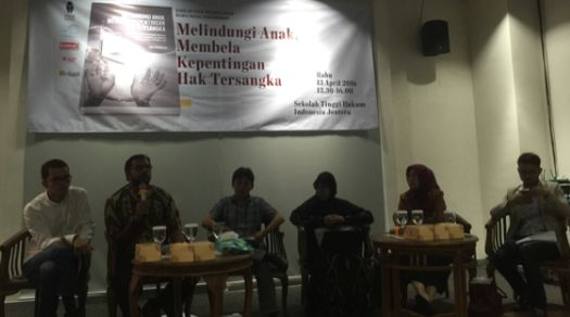 Suasana diskusi di Jentera Law School, 12 April 2016