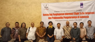 FGD PENELITIAN RIGHT TO BE FORGOTTEN