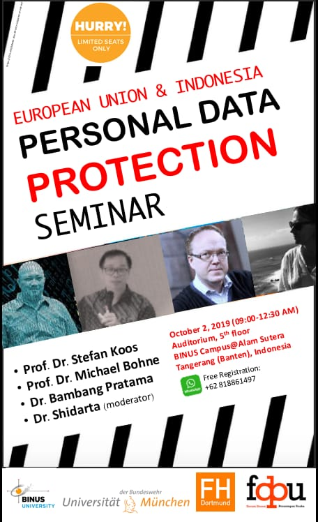 SEMINAR ON PERSONAL DATA PROTECTION