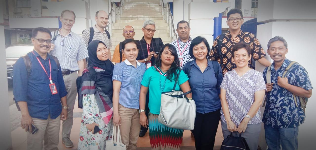 Training of Trainers dalam rangka program Strengthening Legal Education in Eastern Indonesia